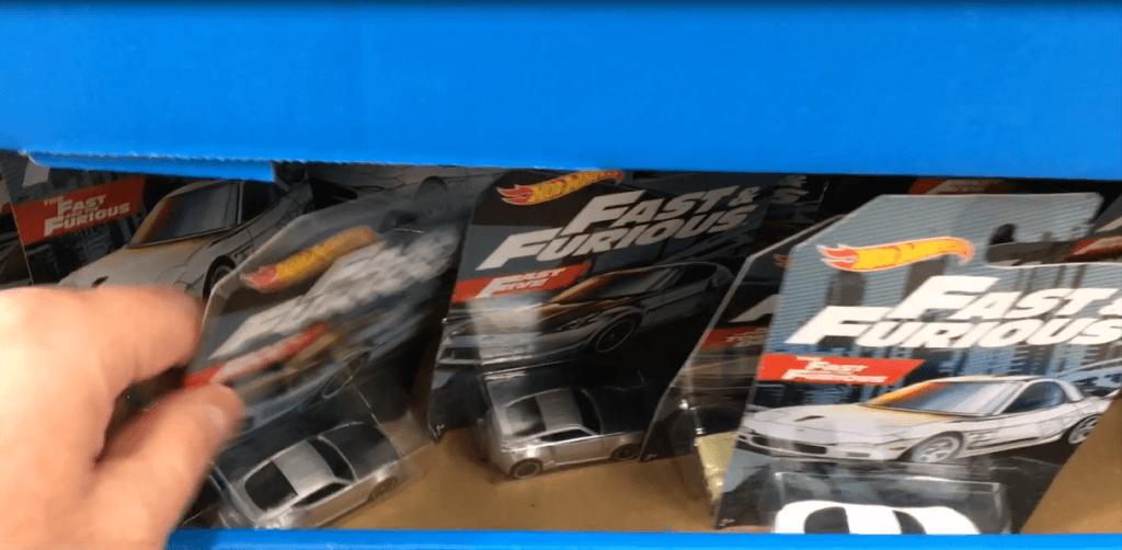 Fast and Furious Hot Wheels at Walmart