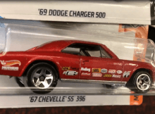 Hot Wheels '67 Chevelle SS Muscle Car