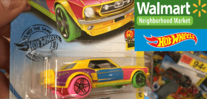 Hot Wheels Hunt Walmart Neighborhood Market