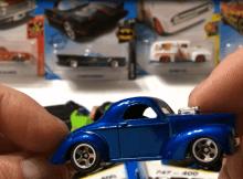 hot wheels hunting at thrift store