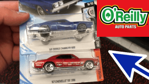 hot wheels hunting o'reillys auto parts