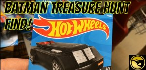 Hot Wheels Batman Treasure Hunt Find