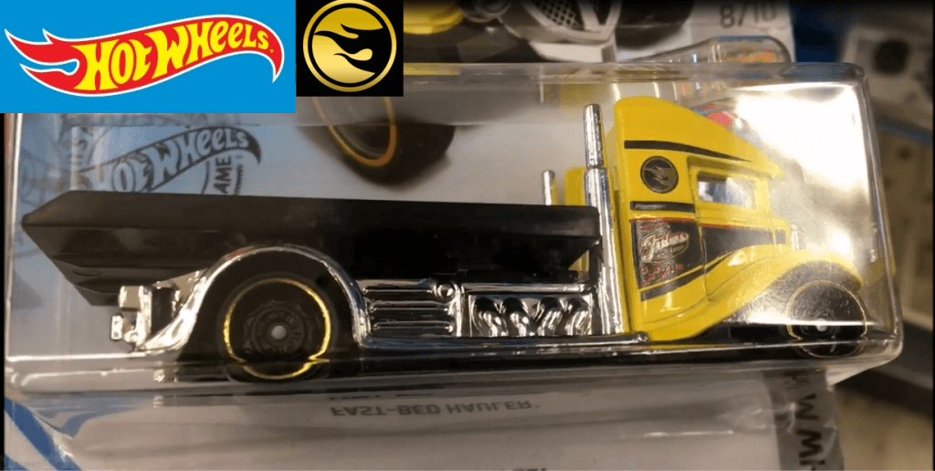 Hot Wheels Bed-Hauler Treasure Hunt